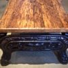Coffee Table - Wood Stove Base