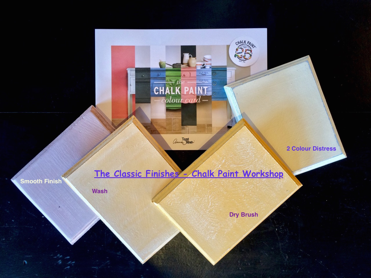 The Classic Finishes - Chalk Paint Workshop