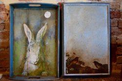 Vintage Decoupage Tray2